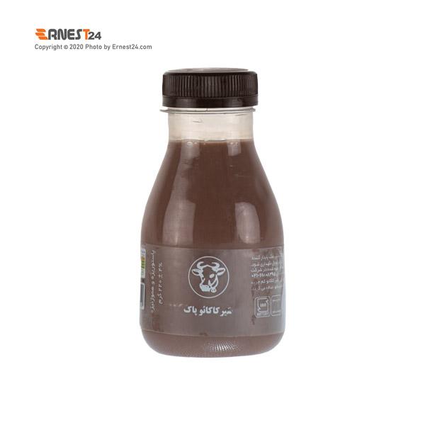 شیر کاکائو پاک وزن 220 گرم عکس استفاده شده در سایت ارنست 24 - ernest24.com