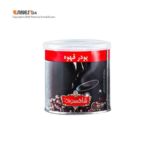 پودر قهوه شاهسوند وزن 100 گرم عکس استفاده شده در سایت ارنست 24 - ernest24.com