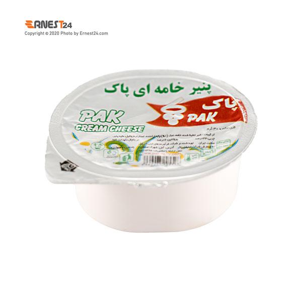 پنیر خامه ای پاک وزن ۳۰ گرم عکس استفاده شده در سایت ارنست 24 - ernest24.com