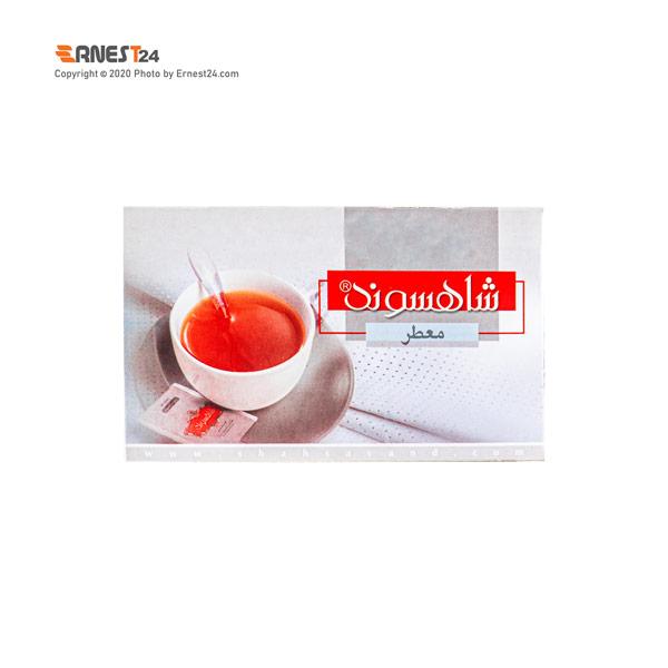 چای سیاه کیسه ای ارل گری شاهسوند 20 عددی عکس استفاده شده در سایت ارنست 24 - ernest24.com
