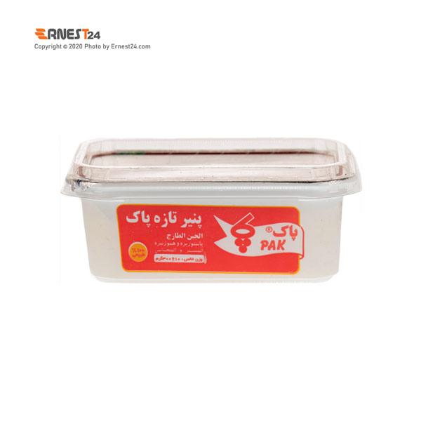 پنیر تازه پاک وزن ۳۰۰ گرم عکس استفاده شده در سایت ارنست 24 - ernest24.com