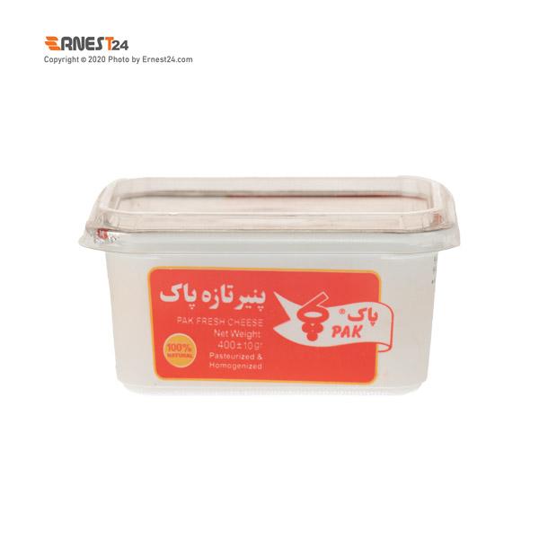 پنیر تازه پاک وزن 400 گرم عکس استفاده شده در سایت ارنست 24 - ernest24.com