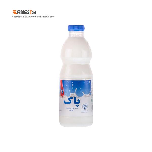 شیر پرچرب پاک وزن ۱۰۰۰ گرم عکس استفاده شده در سایت ارنست 24 - ernest24.com