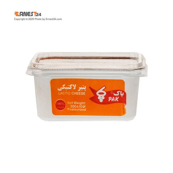 پنیر لاکتیکی پاک وزن ۳۰۰ گرم عکس استفاده شده در سایت ارنست 24 - ernest24.com