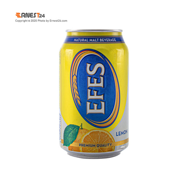 ماء الشعیر با طعم لیمو EFES حجم ۳۳۰ میلی لیتر عکس استفاده شده در سایت ارنست 24 - ernest24.com