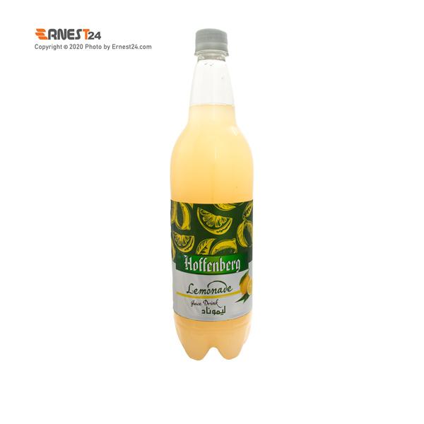 نوشیدنی گازدار با طعم لیموناد هوفنبرگ حجم ۱۰۰۰ میلی لیتر عکس استفاده شده در سایت ارنست 24 - ernest24.com