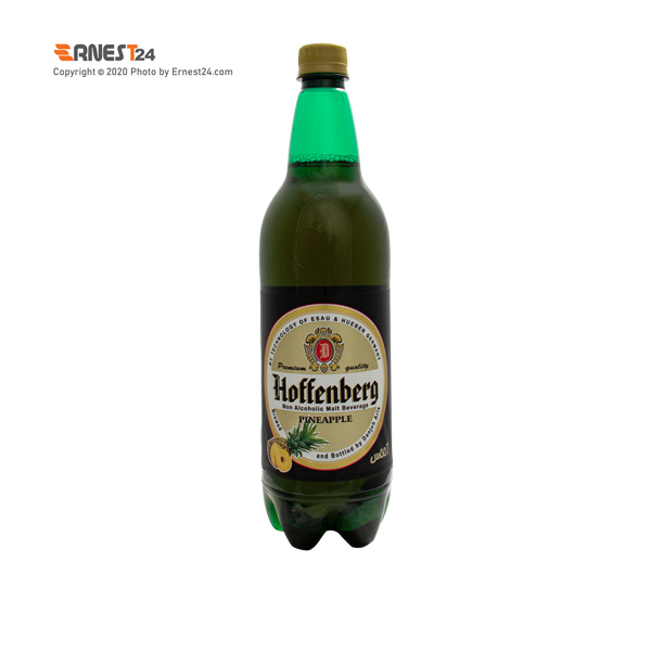 ماءالشعیر با طعم آناناس هوفنبرگ حجم ۱۰۰۰ میلی لیتر عکس استفاده شده در سایت ارنست 24 - ernest24.com