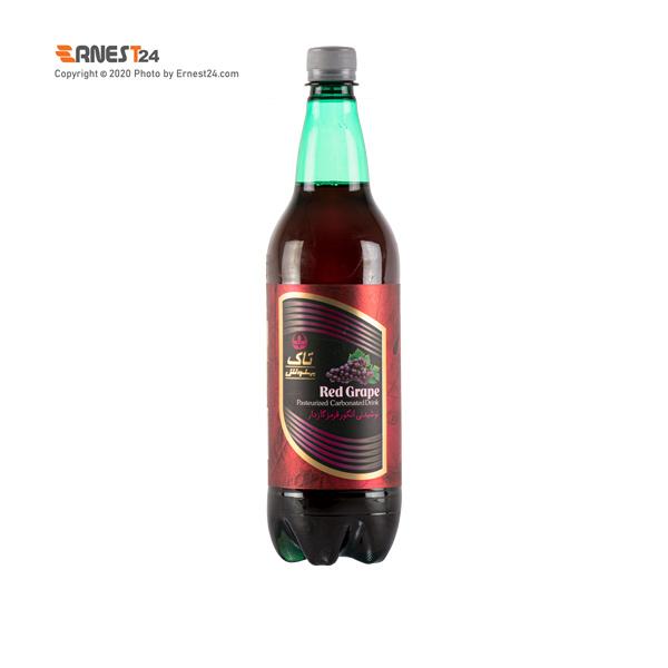 نوشیدنی گازدار با طعم انگور قرمز تاک بهنوش حجم 1000 میلی لیتر عکس استفاده شده در سایت ارنست 24 - ernest24.com