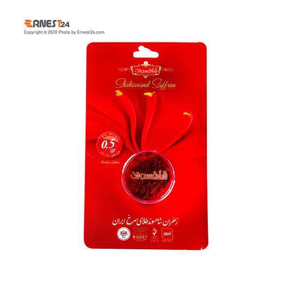 زعفران سرگل شاهسوند وزن 0.5 گرم عکس استفاده شده در سایت ارنست 24 - ernest24.com