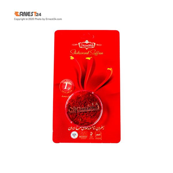 زعفران سرگل شاهسوند وزن 1 گرم عکس استفاده شده در سایت ارنست 24 - ernest24.com