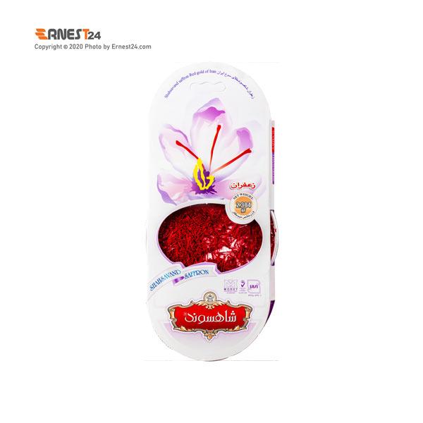 زعفران سرگل شاهسوند وزن 2.304 گرم عکس استفاده شده در سایت ارنست 24 - ernest24.com