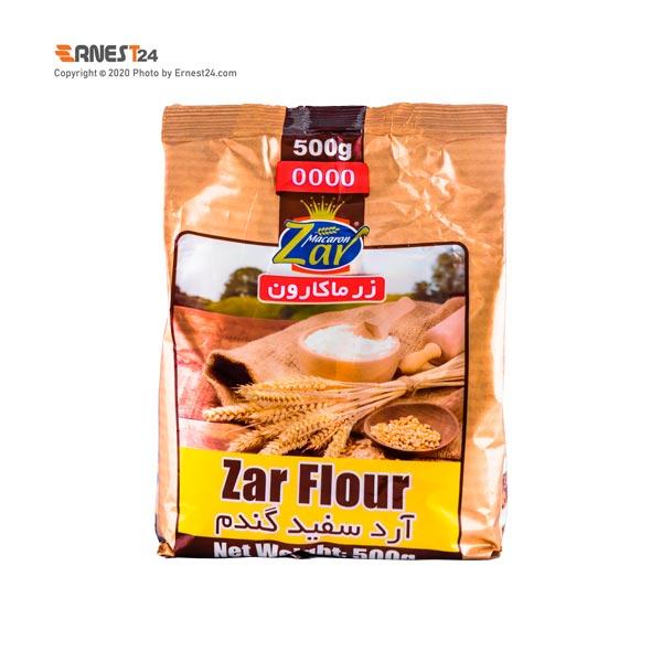 آرد سفید گندم زر ماکارون وزن 500 گرم عکس استفاده شده در سایت ارنست 24 - ernest24.com
