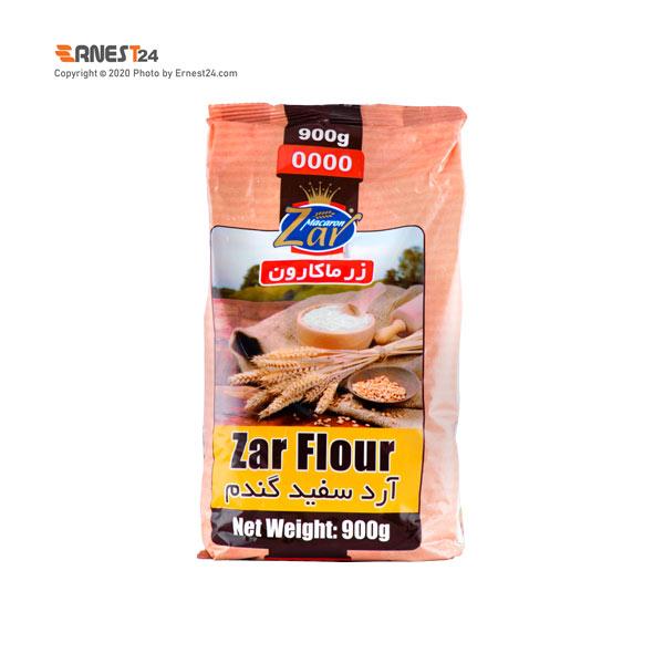 آرد سفید گندم زر ماکارون وزن 900 گرم عکس استفاده شده در سایت ارنست 24 - ernest24.com