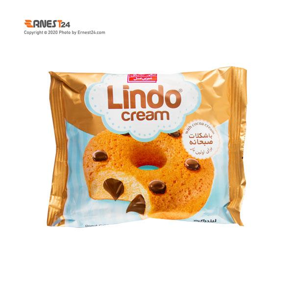دونات مغزدار با کرم کاکائو لیندو شیرین عسل وزن 50 گرم عکس استفاده شده در سایت ارنست 24 - ernest24.com
