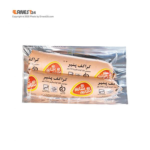 سوسیس کراکف پنیر شام شام وزن 420 گرم عکس استفاده شده در سایت ارنست 24 - ernest24.com