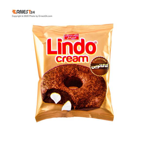 دونات کاکائویی مغزدار با کرم شیری لیندو شیرین عسل وزن 50 گرم عکس استفاده شده در سایت ارنست 24 - ernest24.com