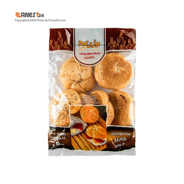 نان ساندویچی کایزر مزرعه بسته بندی 6 عددی عکس استفاده شده در سایت ارنست 24 - ernest24.com