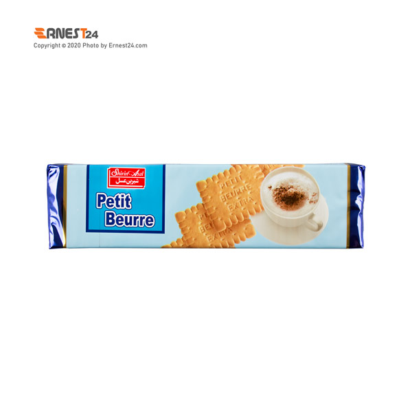بیسکویت با طعم شیر پتی بور شیرین عسل وزن 125 گرم عکس استفاده شده در سایت ارنست 24 - ernest24.com