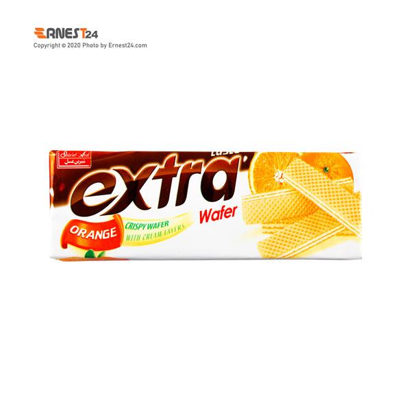 ویفر پرتقالی اکسترا شیرین عسل وزن 70 گرم عکس استفاده شده در سایت ارنست 24 - ernest24.com