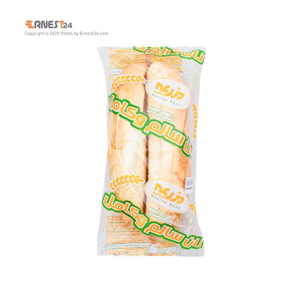 نان ساندویچی مزرعه بسته بندی 2 عددی عکس استفاده شده در سایت ارنست 24 - ernest24.com