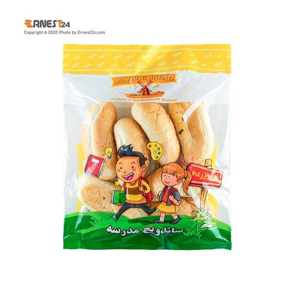 نان ساندویچی مدرسه مزرعه بسته بندی 8 عددی عکس استفاده شده در سایت ارنست 24 - ernest24.com