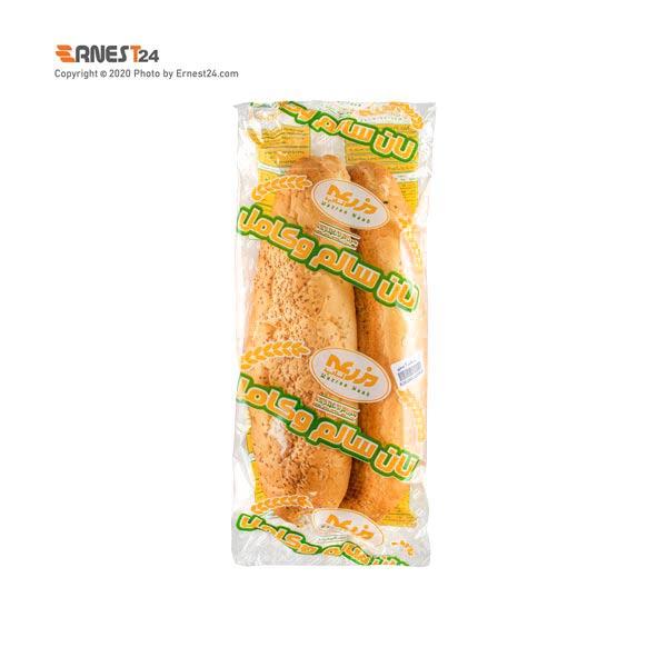 نان ساندویجی کنجدی مزرعه بسته بندی 2 عددی عکس استفاده شده در سایت ارنست 24 - ernest24.com