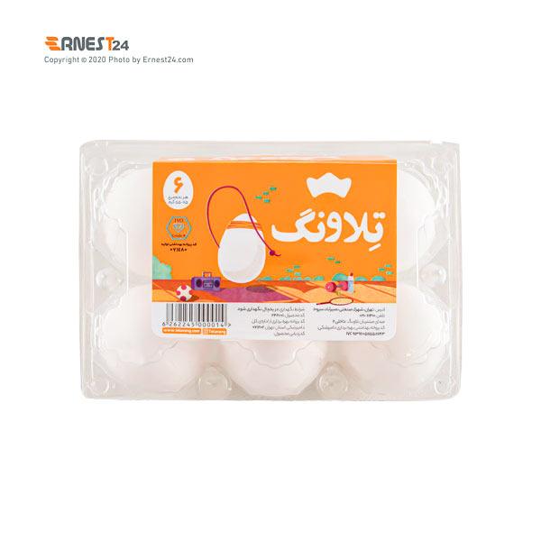 تخم مرغ تلاونگ بسته بندی 6 عددی عکس استفاده شده در سایت ارنست 24 - ernest24.com