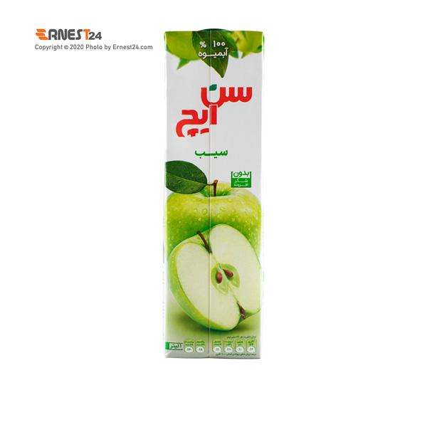 آبمیوه سیب سن ایچ حجم 1000 میلی لیتر عکس استفاده شده در سایت ارنست 24 - ernest24.com