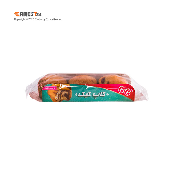 کاپ کیک سه عددی فافا وزن 80 گرم عکس استفاده شده در سایت ارنست 24 - ernest24.com