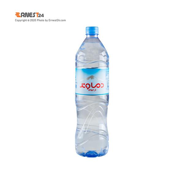آب آشامیدنی دماوند حجم 1.5 لیتر عکس استفاده شده در سایت ارنست 24 - ernest24.com