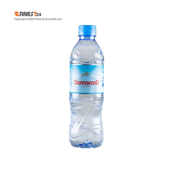 آب آشامیدنی دماوند حجم 350 میلی لیتر نمای پشت کالا عکس استفاده شده در سایت ارنست 24 - ernest24.com
