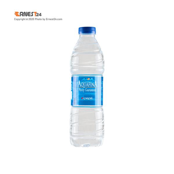 آب آشامیدنی آکوافینا حجم 500 میلی لیتر نمای پشت کالا عکس استفاده شده در سایت ارنست 24 - ernest24.com