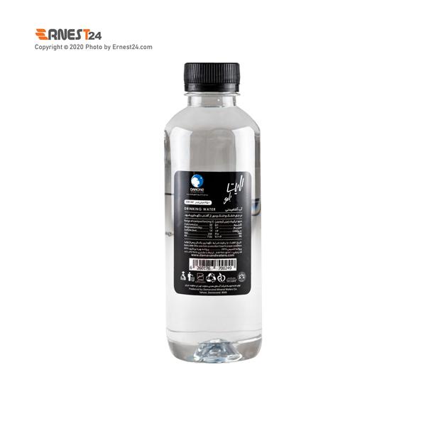 آب آشامیدنی لایت بلو دماوند حجم 350 میلی لیتر نمای پشت کالا عکس استفاده شده در سایت ارنست 24 - ernest24.com
