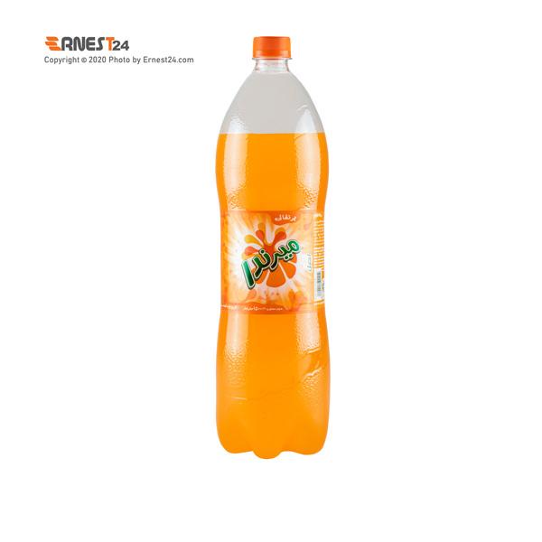 نوشابه گازدار با طعم پرتقال میرندا حجم 1500 میلی لیتر عکس استفاده شده در سایت ارنست 24 - ernest24.com