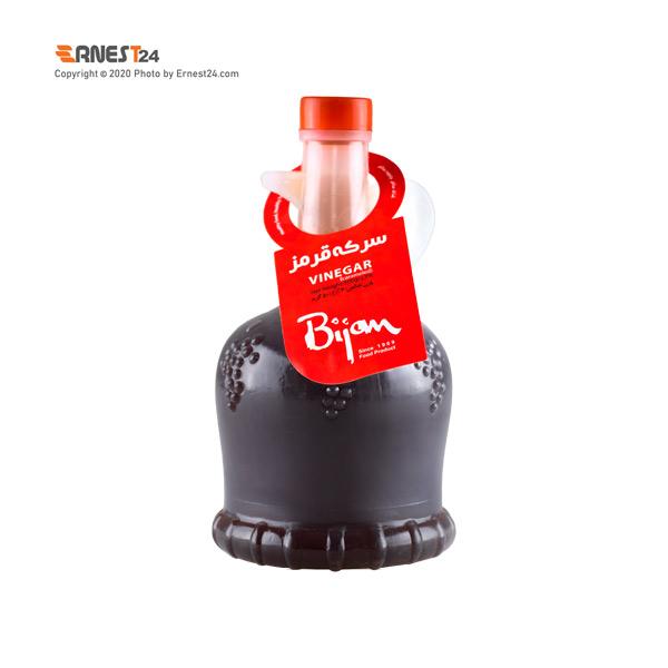سرکه قرمز بیژن وزن 500 گرم عکس استفاده شده در سایت ارنست 24 - ernest24.com