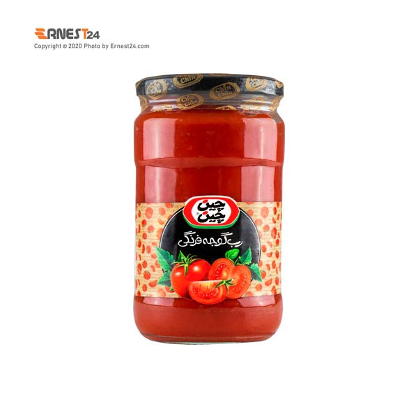 رب گوجه فرنگی چین چین وزن 700 گرم عکس استفاده شده در سایت ارنست 24 - ernest24.com