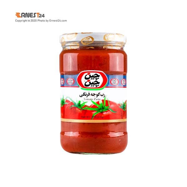 رب گوجه فرنگی چین چین وزن 710 گرم عکس استفاده شده در سایت ارنست 24 - ernest24.com