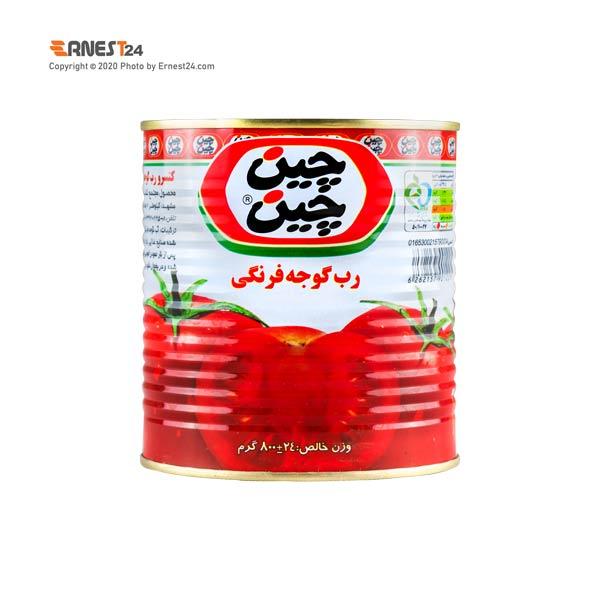 رب گوجه فرنگی چین چین وزن 800 گرم عکس استفاده شده در سایت ارنست 24 - ernest24.com